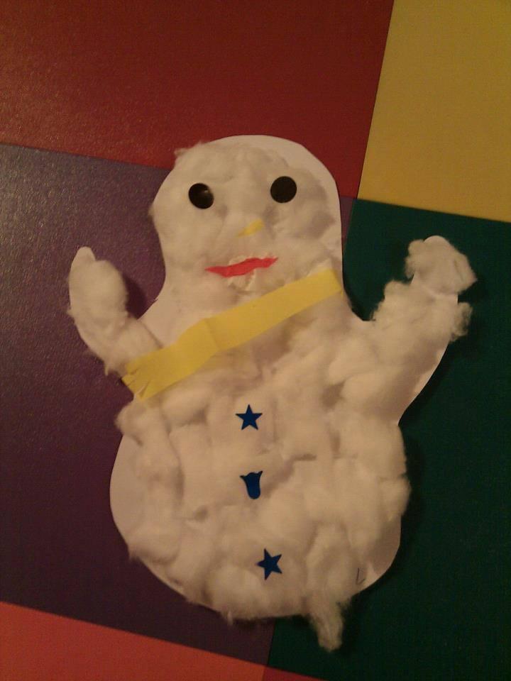 Un bonhomme de neige - Fabriquer un bonhomme de neige ...